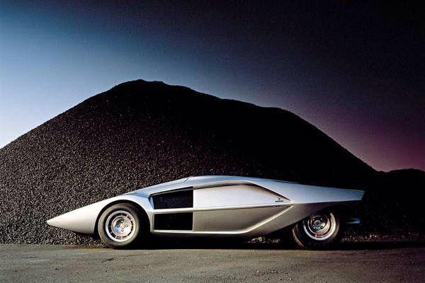 Lancia Concept Stratos Zero swoim designem przypomina pojazd księżycowy. Krążownik szos rodem z przyszłości!