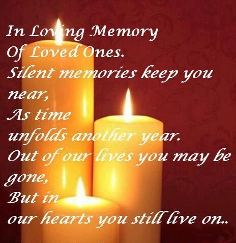 Memory Of Lost Loved Ones Quotes : In Loving #Memory Of Loved Ones. Quotes - In Memory of Loved Ones ...