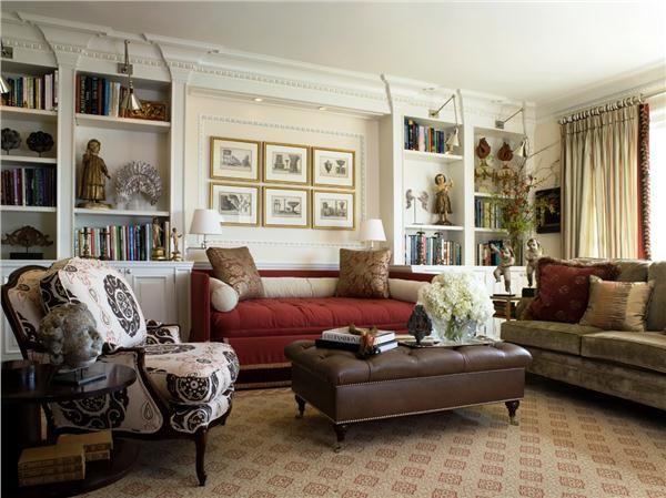 Traditional (Victorian, Colonial) Living & Family Room by Antonio Martins @Antonio Martins