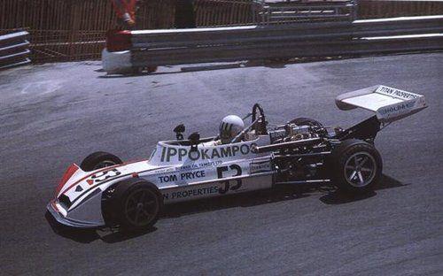 Pryce domina a Montecarlo la classica gara di Formula 3 del 1974