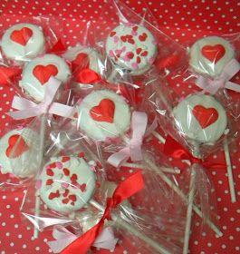 MKR Creations Valentines Oreo Pops Valentines Day