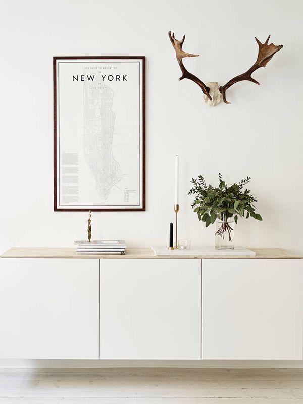 Ikea   Simple   Besta   Clean   Deer   Frames   Home   DIY   Love