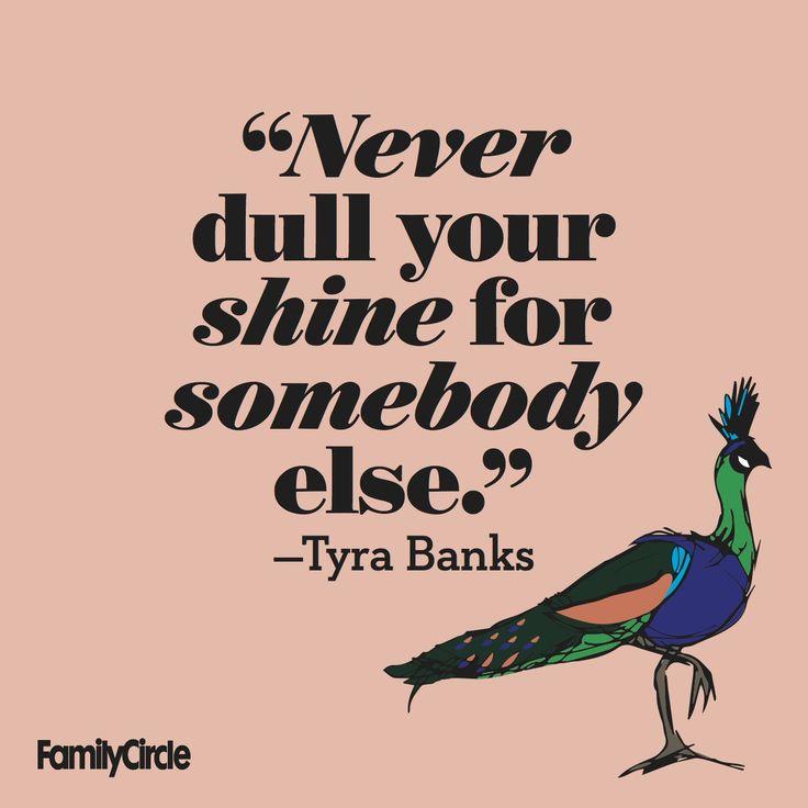 Tyra Banks inspires us for #FamilyCircleWednesdayWisdom!