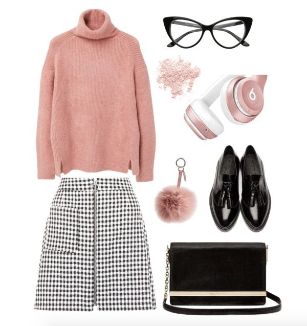 black-white-pink-outfit
