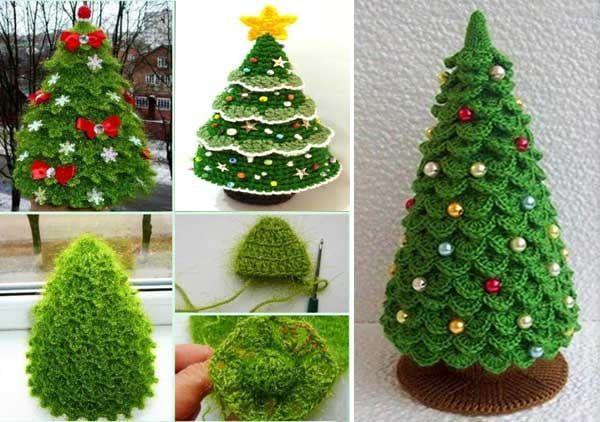 weihnachtsbaum / tannenbaum häkeln - kostenlose & einfache
