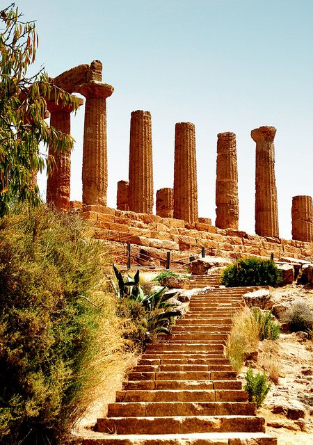 The Temple of Hera and Juno Lacinia, Agrigento, Sicily