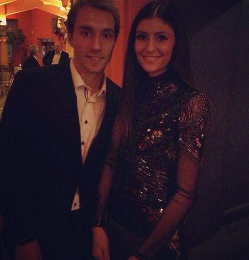 Tottenhams Christian Eriksen & Sabrina Kvist Jensen spend evening with Danish royalty [Instagram]
