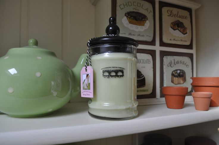 Spring Dress Jar Candle available from http://www.netcandles.net/Product/BW032-094-61/Bridgewater-Jar-Candle-Spring-Dress