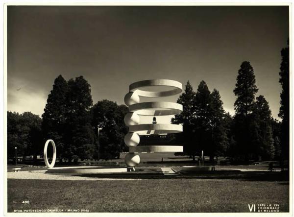 Cesare Cattaneo e Mario Radice, La Fontana al Parco Sempione di Milano, VI Triennale, 1936