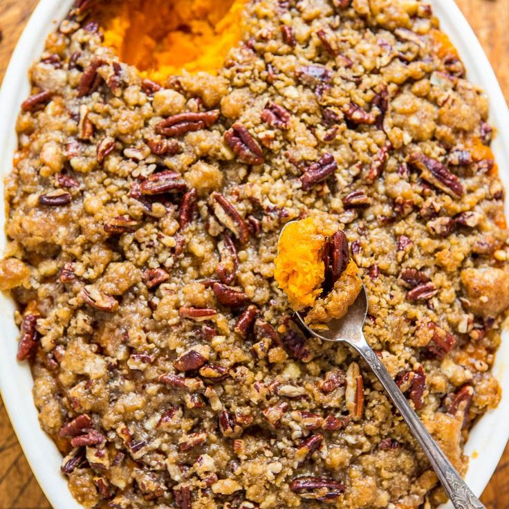 I love sweet potatoes and have a ton of recipes using them from bread to enchiladas but I was missing a classic: sweet potato casserole. It was about time I made it and we loved every bite because this isn't just any ole sweet potato casserole. The crunchy butter pecan crumble topping really sets it apart. It's an …
