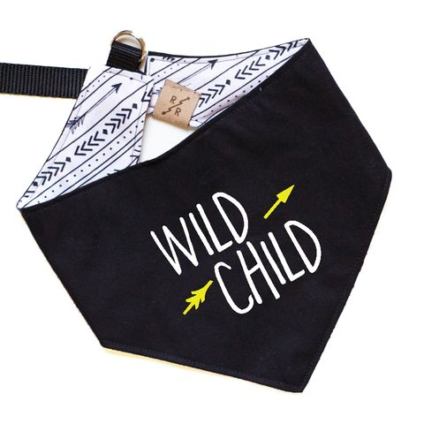 WILD CHILD Dog Bandana