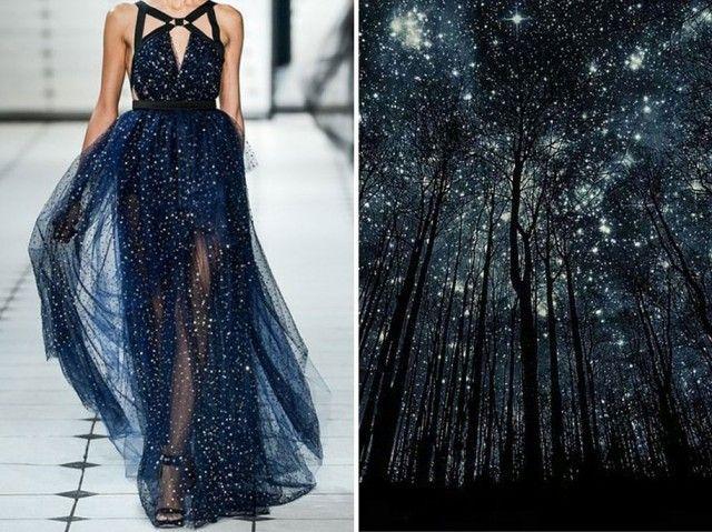 Cet artiste compare des robe de haute couture à des paysages hyper-ressemblants