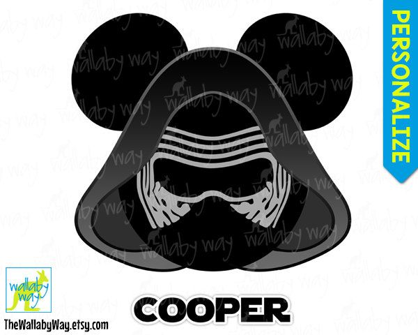 63 best disney star wars images on pinterest mickey head Baby Mickey Mouse Clip Art Minnie Mouse Bow Clip Art