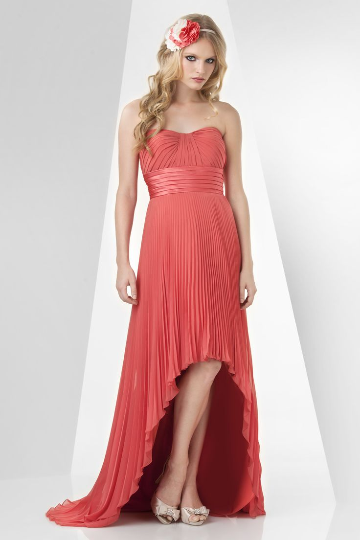 30 best bari jay dresses images on pinterest colors dress style 865 slight sweetheart high low pleated chiffon and charmeuse summer bridesmaid dressesred ombrellifo Choice Image