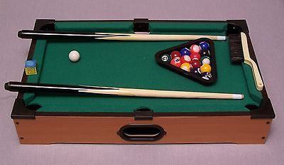 TOTES TABLETOP POOL TABLE ALL ACCESSORIES INCLUDED EXCELLENT CONDITION