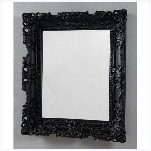 Incredibly Antique Black Mirror