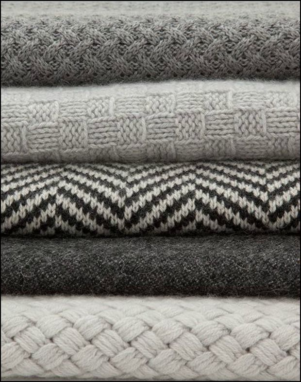 Monochrome design and knitted blankets: read more on the LoveKnitting blog!