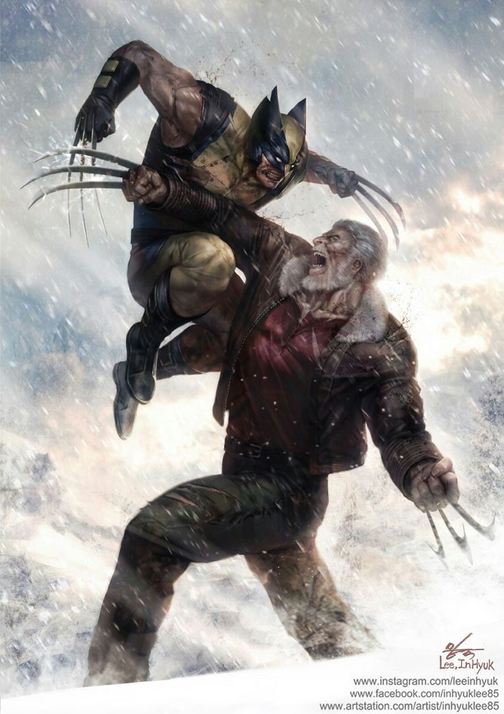 Wolverine and old man logan