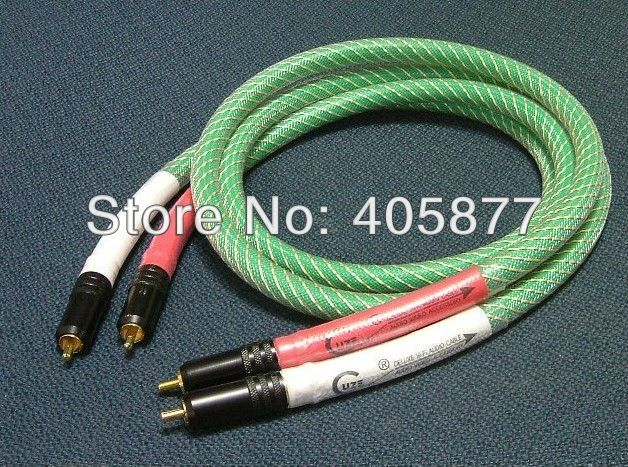 45.00$  Know more  - Hi Fi  audio RCA Cable A Pair Hi-End Performance RCA Audio Cable 1.5m with gold plated RCA Connector