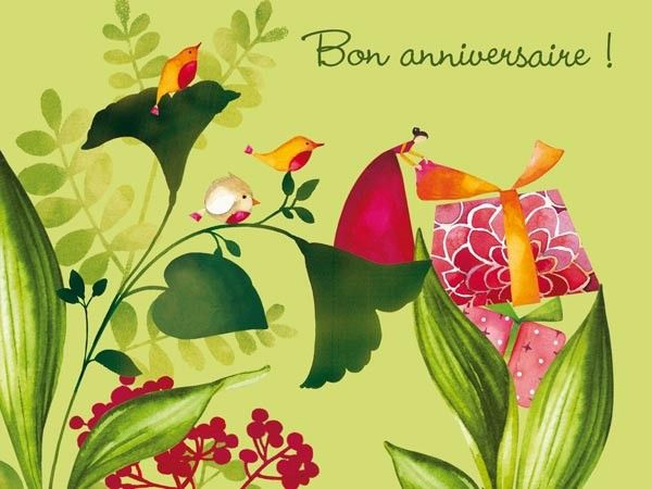 Carte D Anniversaire Gratuit A Envoyer Sur Facebook Un Carte