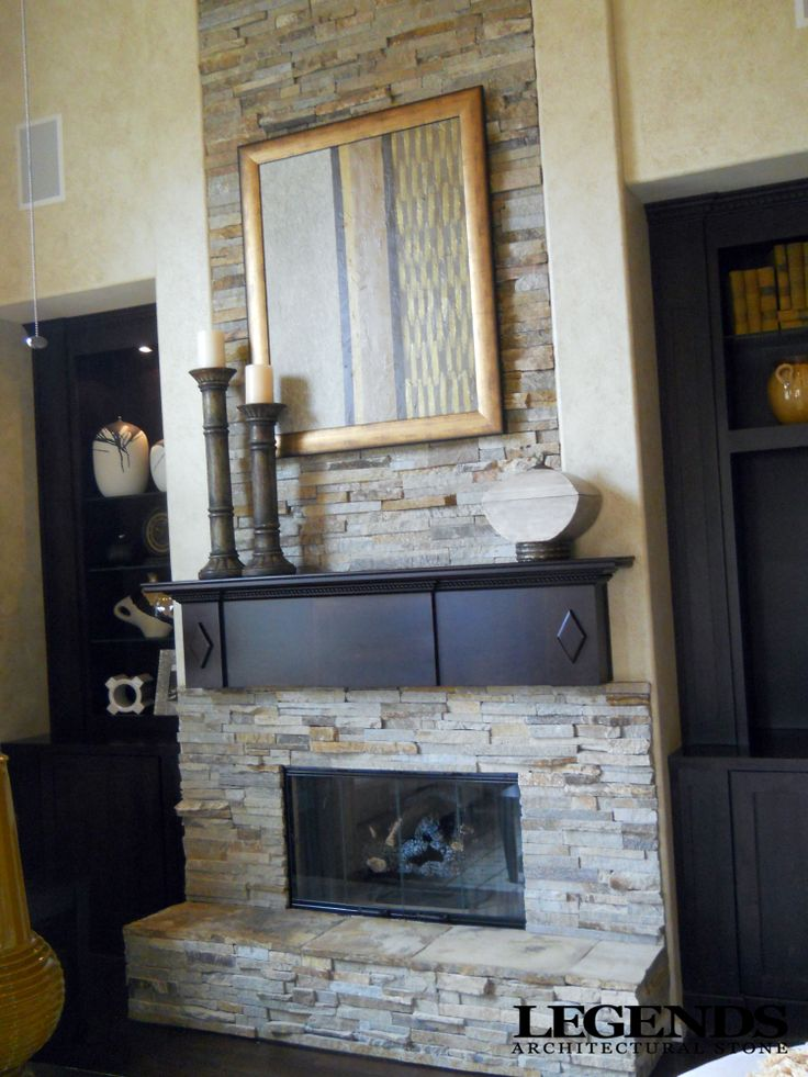 Fireplace With Hearth Virginia Ledgestone With Oklahoma