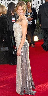 Globes 2007: Best & Worst Dressed - JESSICA BIEL: BEST - Golden ...