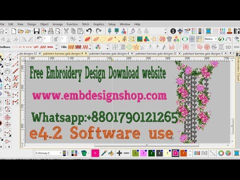How To Make Computer Embroidery Design Embroidery Machine Design P In 2020 Embroidery Design Download Embroidery Designs Computer Embroidery
