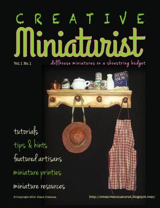 Creative miniaturist vol 1 no 1....new free online magazine!
