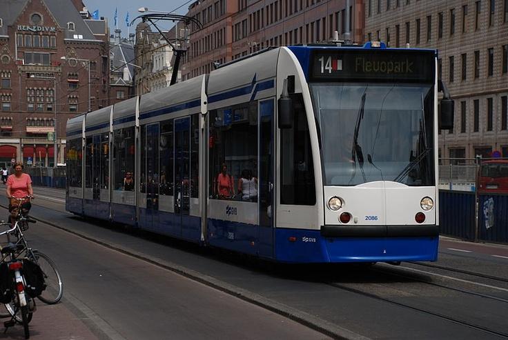 Amsterdam Streetcar