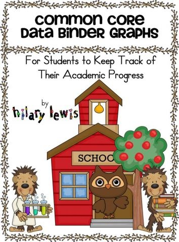 Common Core data binder graphs: Data Collection, Teachers Materials, Classroom, Cores Data, Schools, Student Data, Common Cores, Data Binders, Data Notebooks