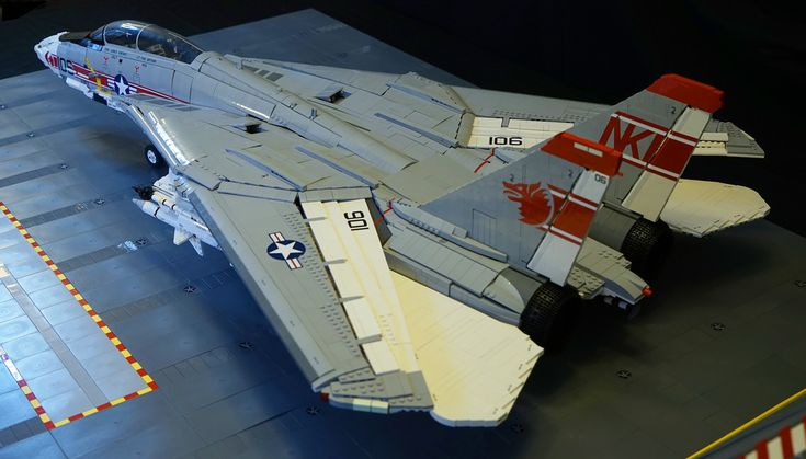 """F-14A Tomcat Rear Qtr"" by crash_cramer: Pimped from Flickr"