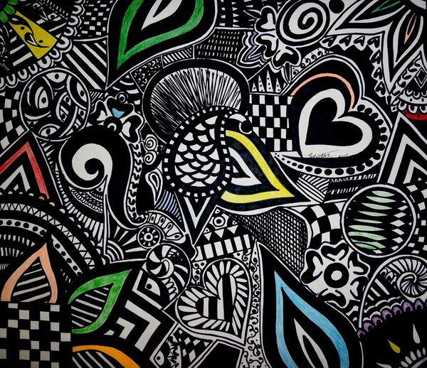 17 best images about doodle art on pinterest canada for Cool art design ideas