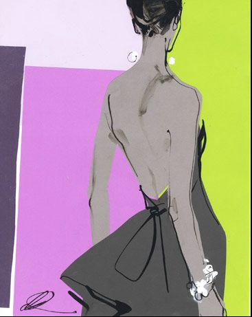 Pourquoi pas? - Fashion Illustration magazine by David Downton, check it at http://www.pqpmagazine.com/