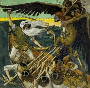 The Finnish national epic 'Kalevala' was compiled and edited by Elias Lönnrot in the 1830s and 1840s on basis of the epic folk poems he had collected in Finland and Karelia. This mythic, but also political and religious collection of heroic poetry has inspired artists and writers all over the world – J.R.R. Tolkien, Eino Leino and Akseli Gallen-Kallela to name a few. #EUtah @BYU International Study Programs #byuinternational