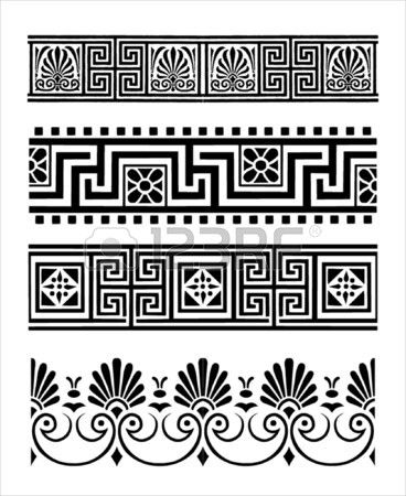 Ornements grecs                                                                                                                                                                                 Plus