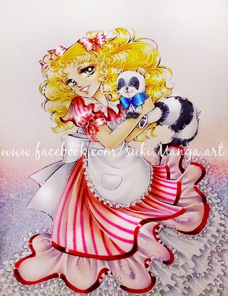 Copic Marker Europe: Candy Candy fan art, by Suki Manga Art