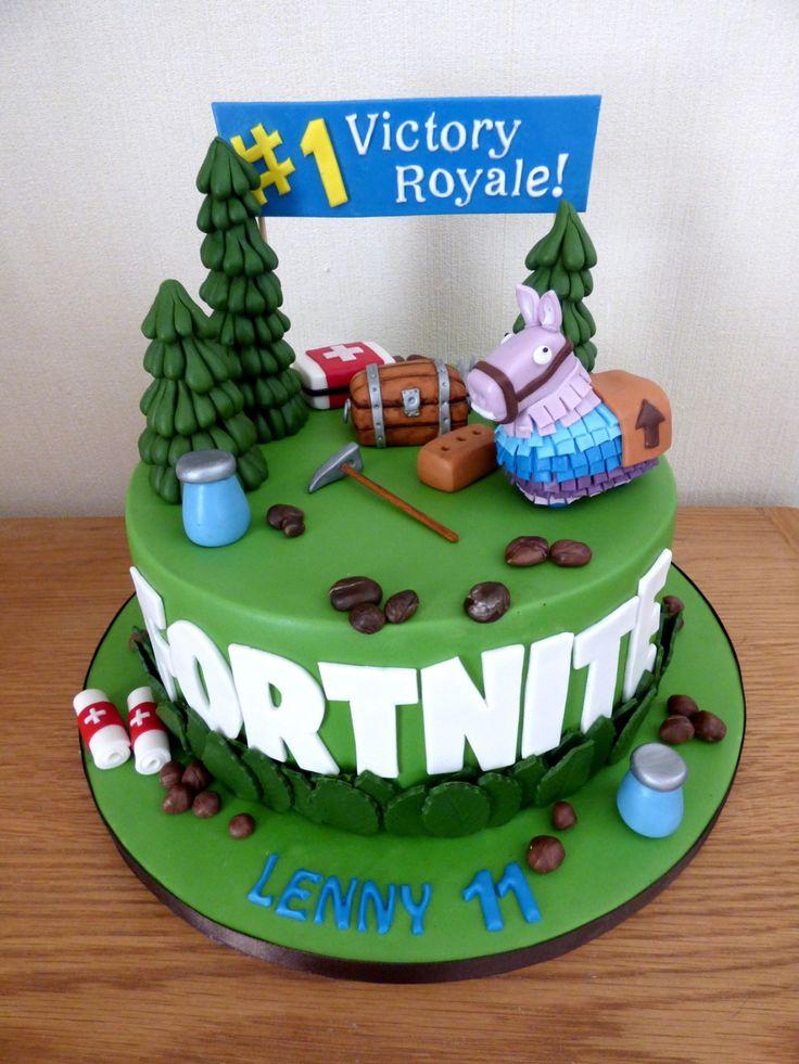 Fortnite Themed Birthday Cake « Susie's Boy Birthday