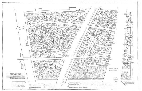 Piet oudolf drawing plan garden plans history for Lurie garden planting plan