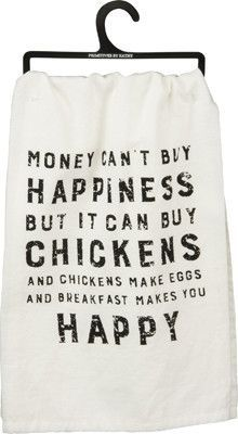 """Our collection of farm inspired dish towels are perfect for any farmhouse! - SIZE: 28"""" Square - Cotton"""