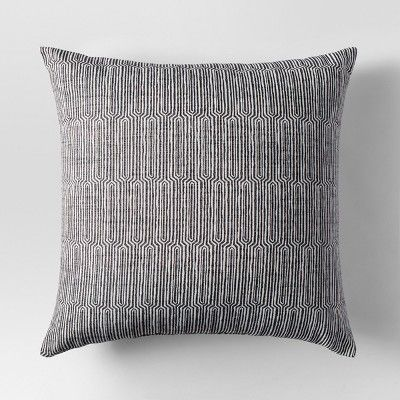 Gray Woven Linework Oversized Throw Pillow - Project 62™ : Target