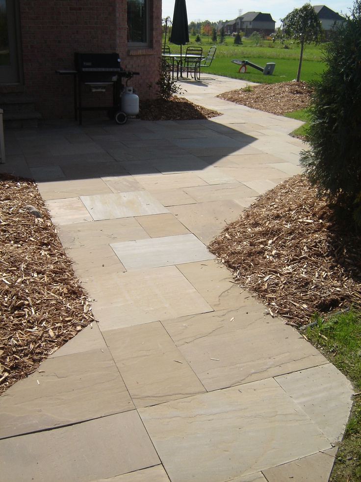 1000  images about flagstone patios on pinterest