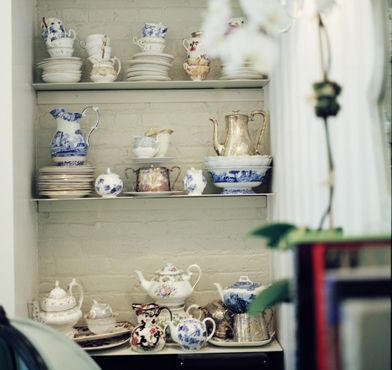 Tea pots & tea cups!