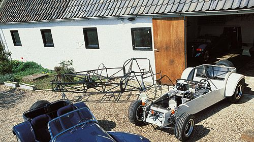 First Donkervoort 'factory' in Tienhoven (NL)