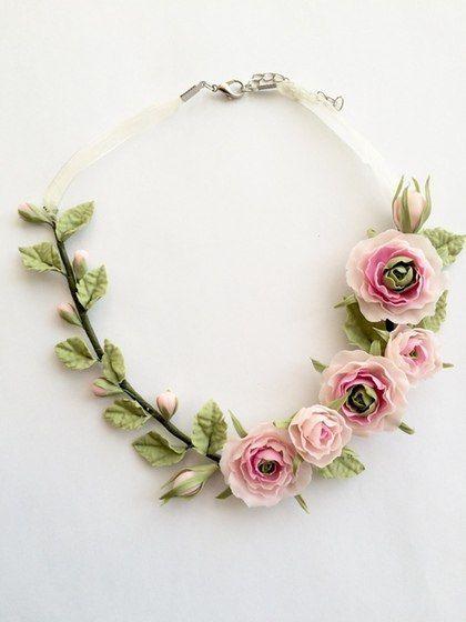 Цветы из Полимерной глины. Мастер классы