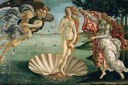 Birth of Venus (La Nascita di Venere)  by Sandro Botticelli (Alessandro Filipepi)