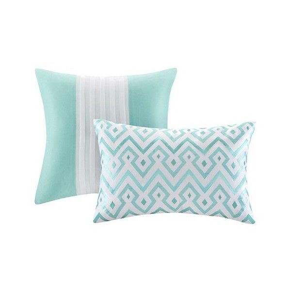 Leah 5 Piece Duvet Cover Set - Teal (4,755 INR) ❤ liked on Polyvore - Best 25+ Teal Bedding Sets Ideas On Pinterest Bedroom Fun, Teal