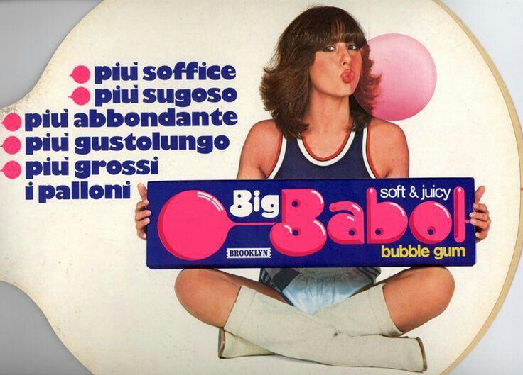 Big babol, gomma da masticare zuccherata