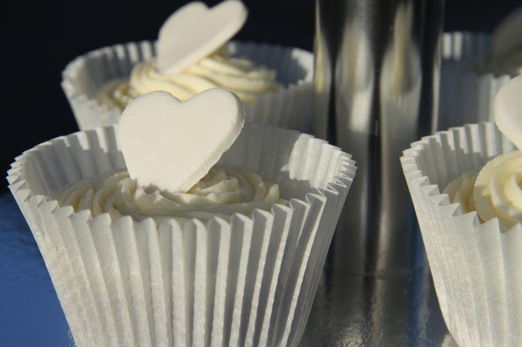 Bröllops cupcakes Sibbamåla i Karlskrona