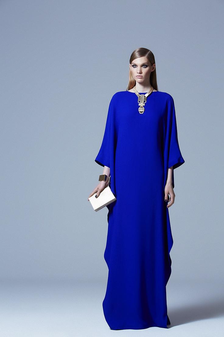 2013 ELIE SAAB Pre-Fall hautearabia#haute#arabian#luxury ~ Couture does Abaya in stunning colour