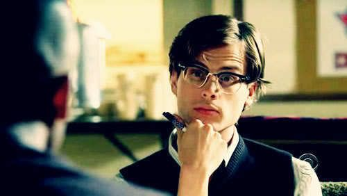 Matthew Gray Gubler (aka Dr. Spencer Reid of Criminal Minds)    If I were straight, I would do him!